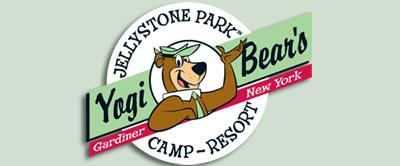 Yogi Bear's Jellystone Park business card