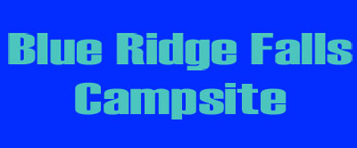 Blue Ridge Falls Campsite business card