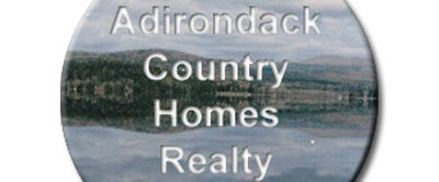 Adirondack Country Homes business card