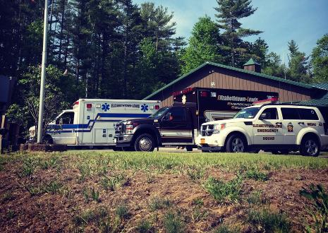 Essex EMS vehicles