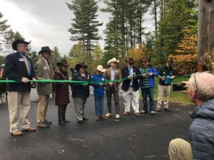 North Hudson, NY Frontier Town ribbon cutting